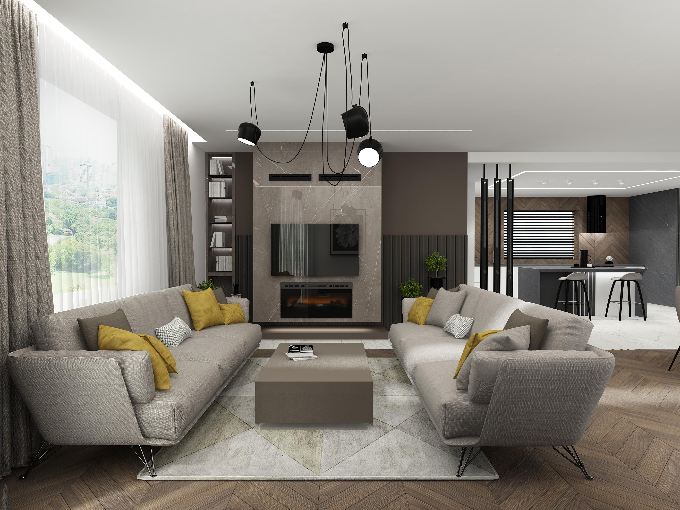 . Modern house  33   EXTRAVAGANCE design Modern interior design