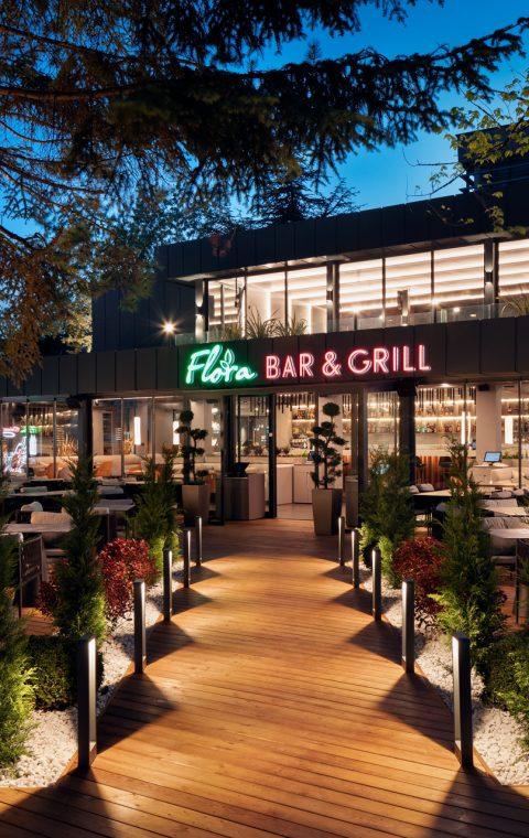 Flora Bar and Grill Sunny Beach